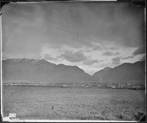 Timothy H. O'Sullivan, Ogden, Utah (1874).