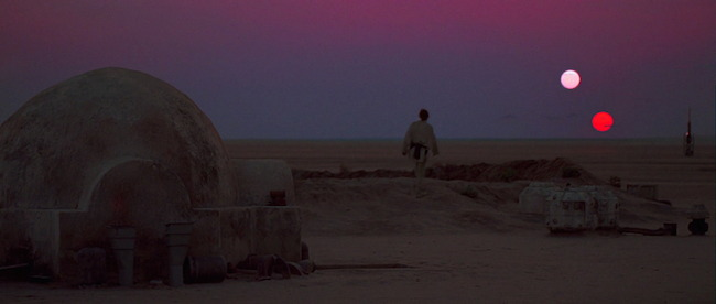 Still from Star Wars: Episode IV – A New Hope (1977)